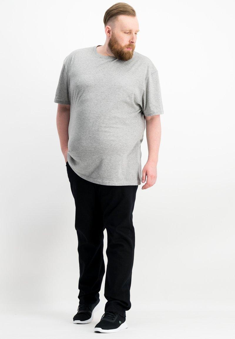 Ragman - 2 PACK - Basic T-shirt - grey