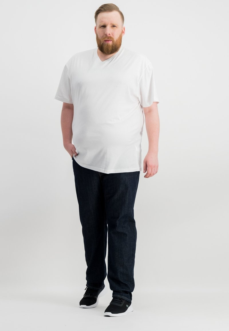 Ragman - 2 PACK - Basic T-shirt - white