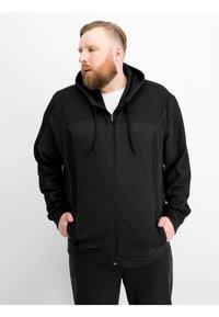 Ragman - Zip-up hoodie - black - 0
