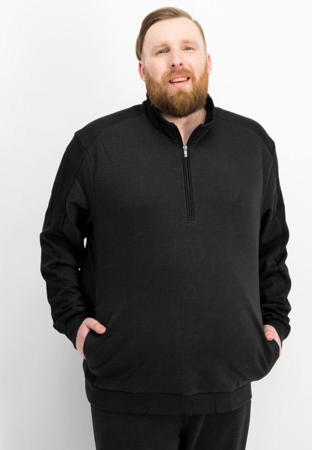 TROYER - Sweatshirt - black