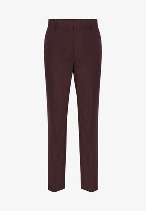 LISSIA - Trousers - dark red