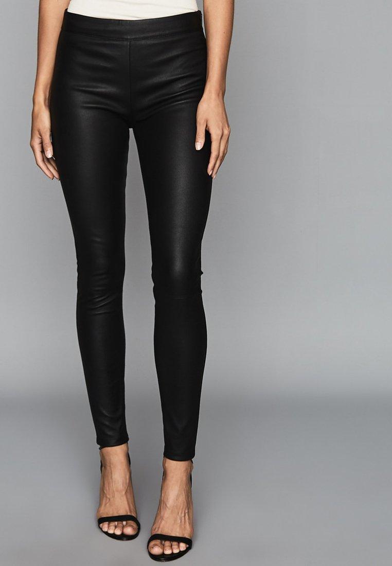Reiss - VALERIE - Leggings - Trousers - black