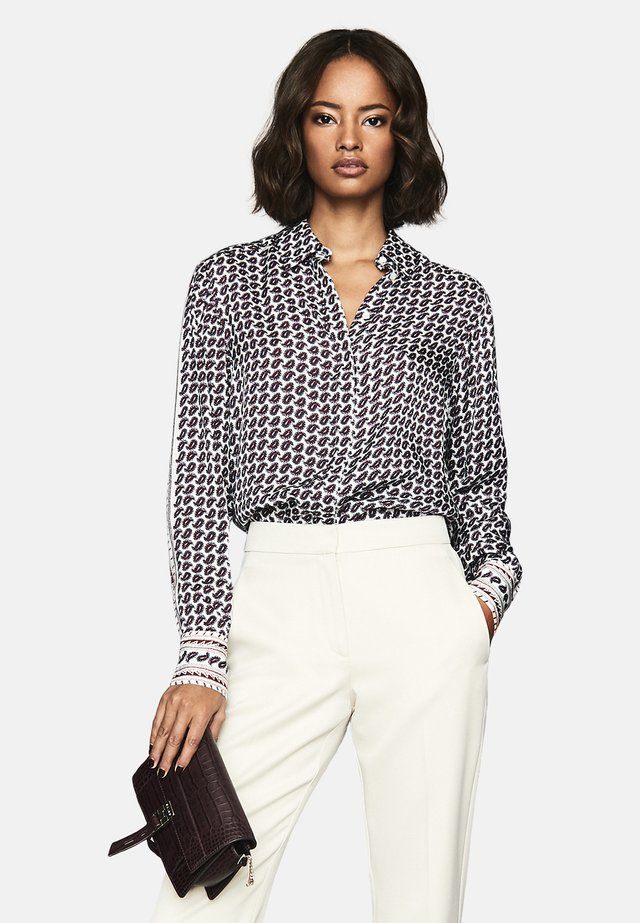 COCO - Button-down blouse - white