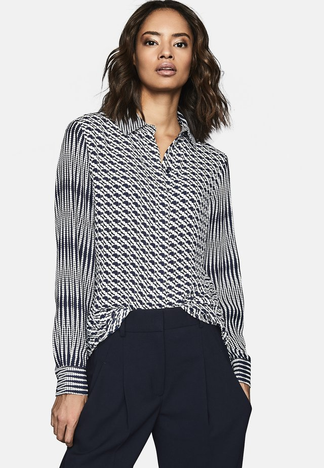 LIVVY - Button-down blouse - navy blue