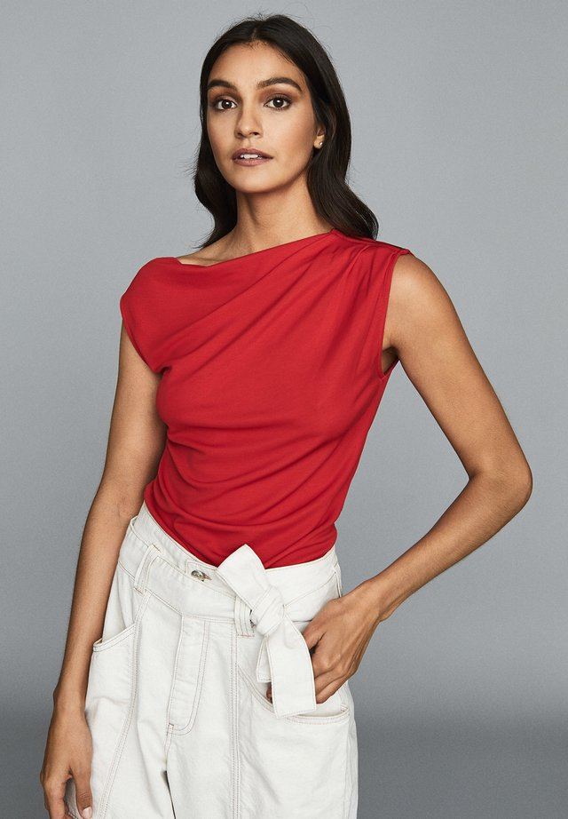 FLAVIA - Top - red