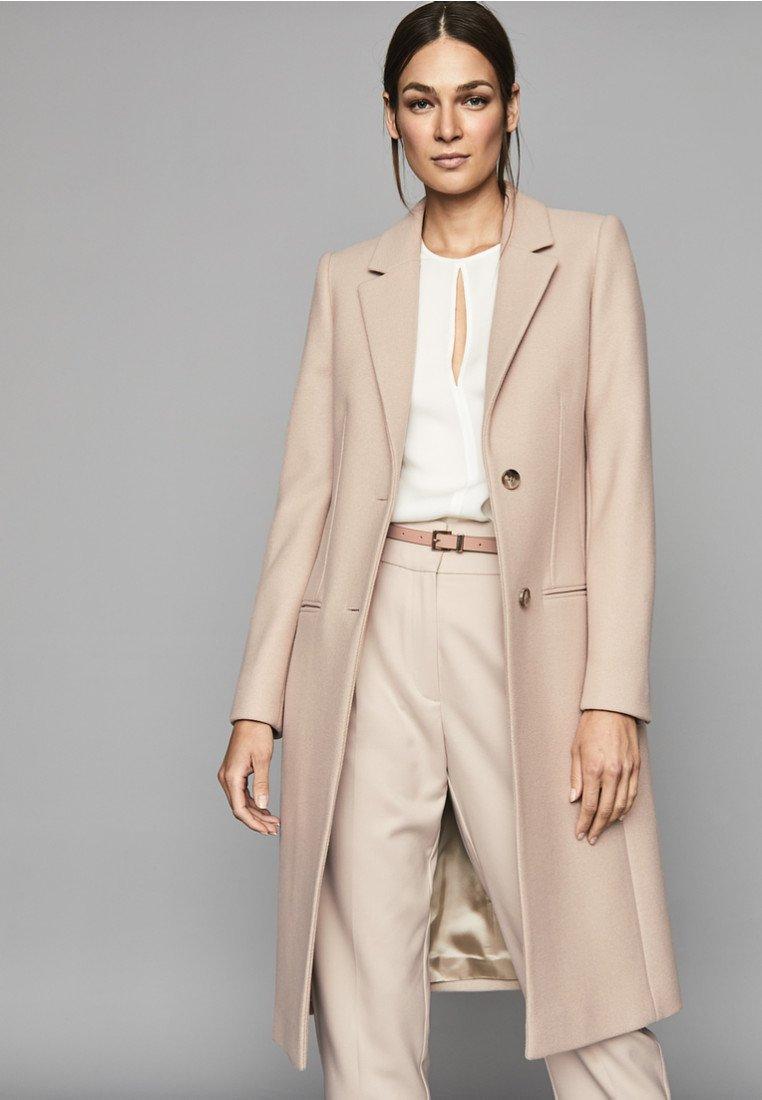 Reiss - PEMBURY - Wollmantel/klassischer Mantel - pink