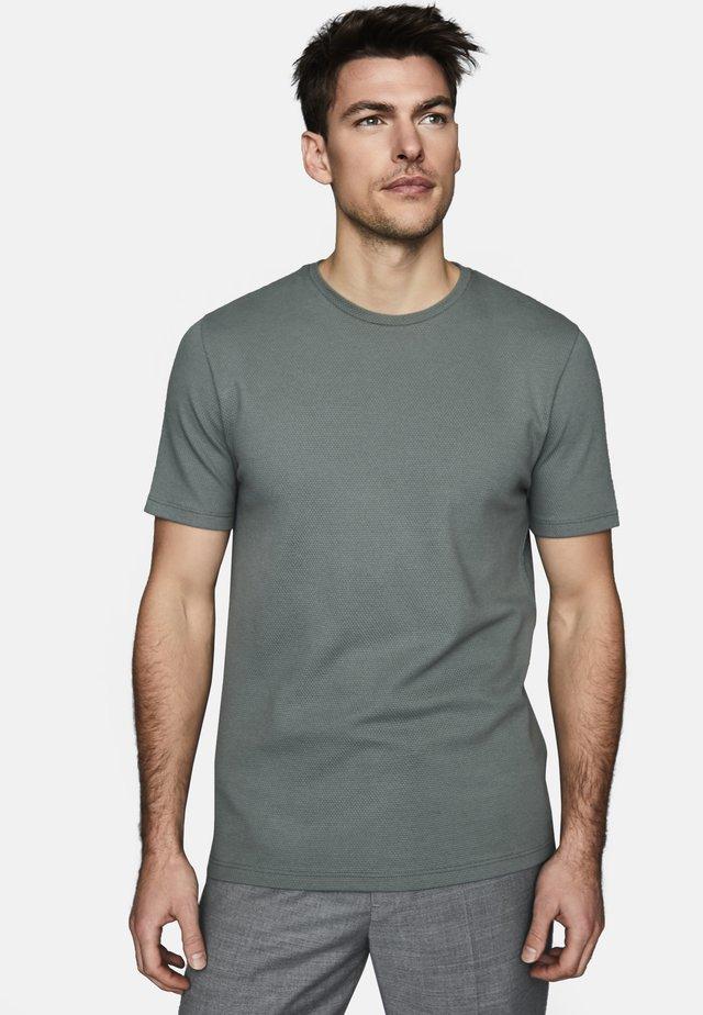 HEATON - T-shirt basic - light green