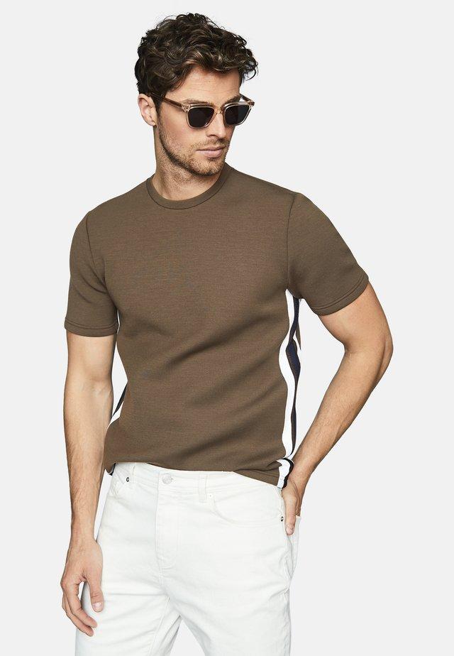 OLLIE - T-shirt print - dark brown