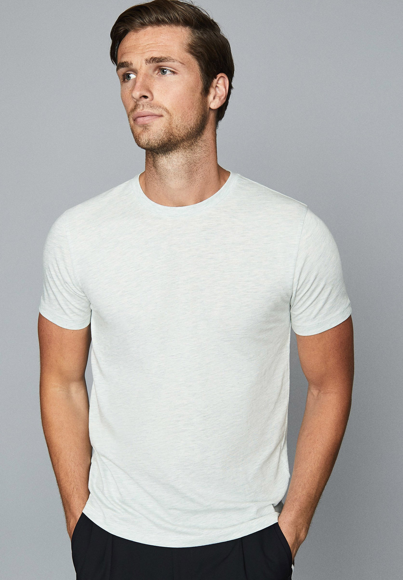 Reiss HOLBORN T shirt print light blue Zalando.nl