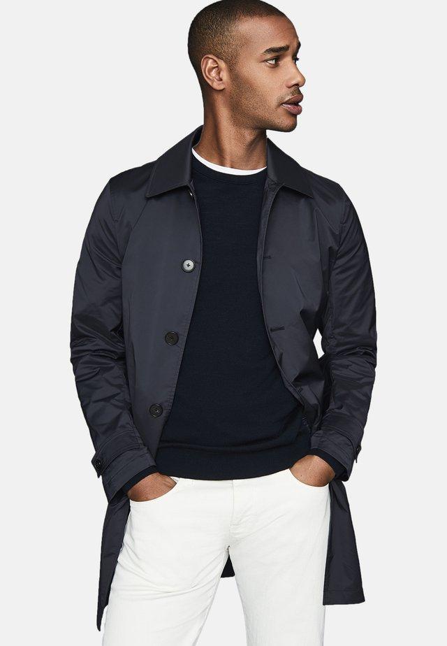 Short coat - navy blue