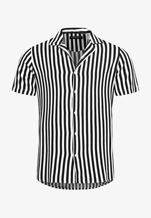 HEMD NEWARK GESTREIFT REGULAR FIT - Shirt - schwarz