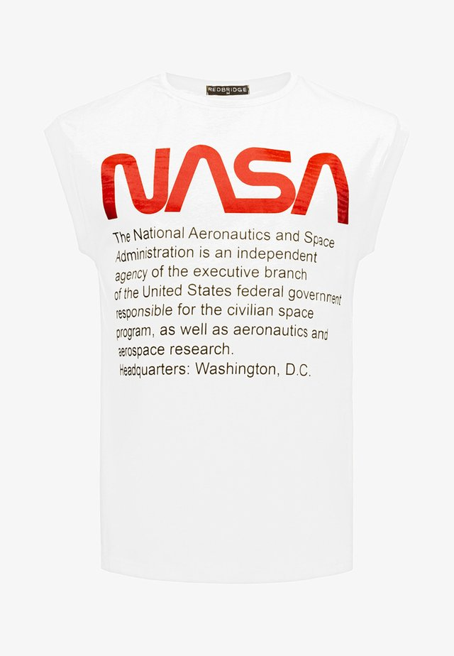 WASHINGTON NASA  - Top - white