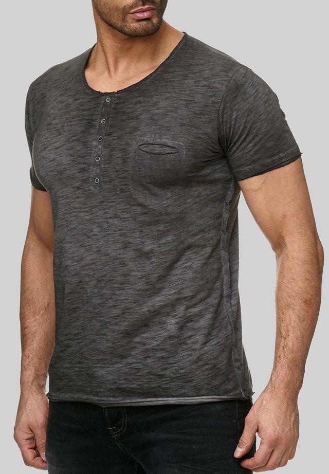 SAN FRANCISCO - Basic T-shirt - dunkelgrau