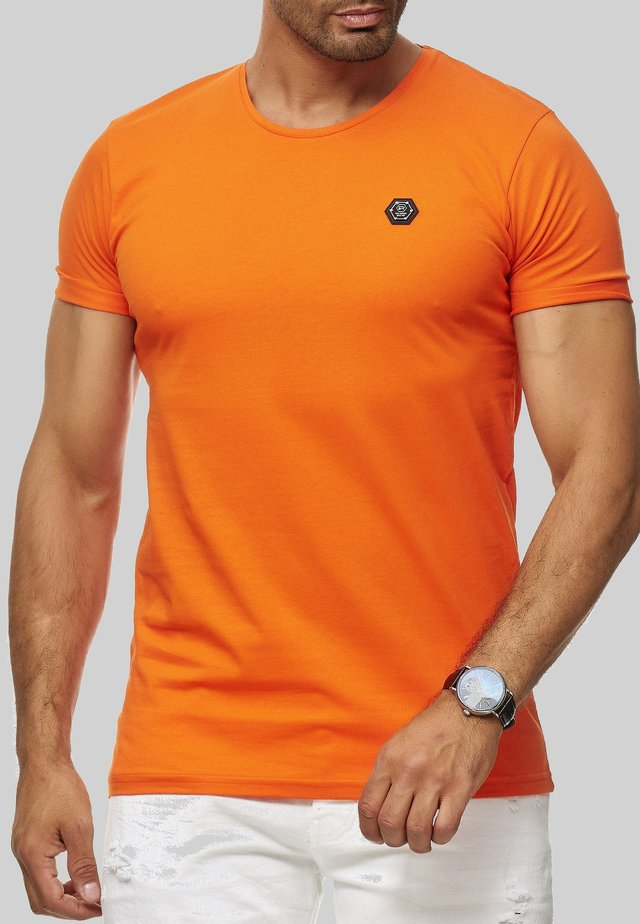 ATLANTA BASIC - Basic T-shirt - orange