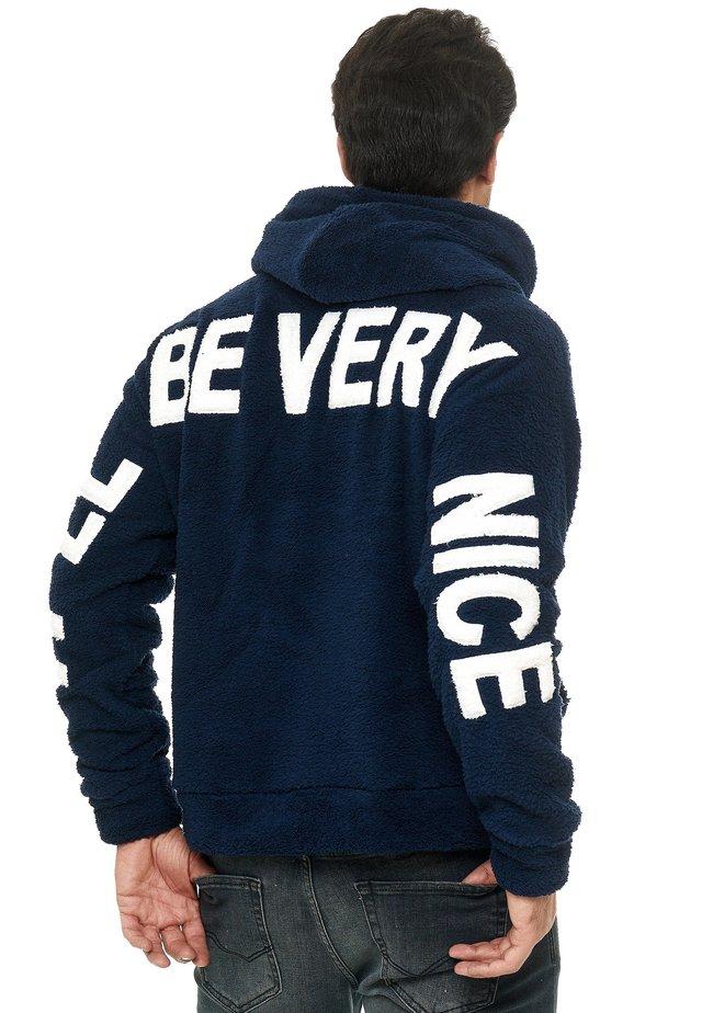 Fleece jacket - darkblue