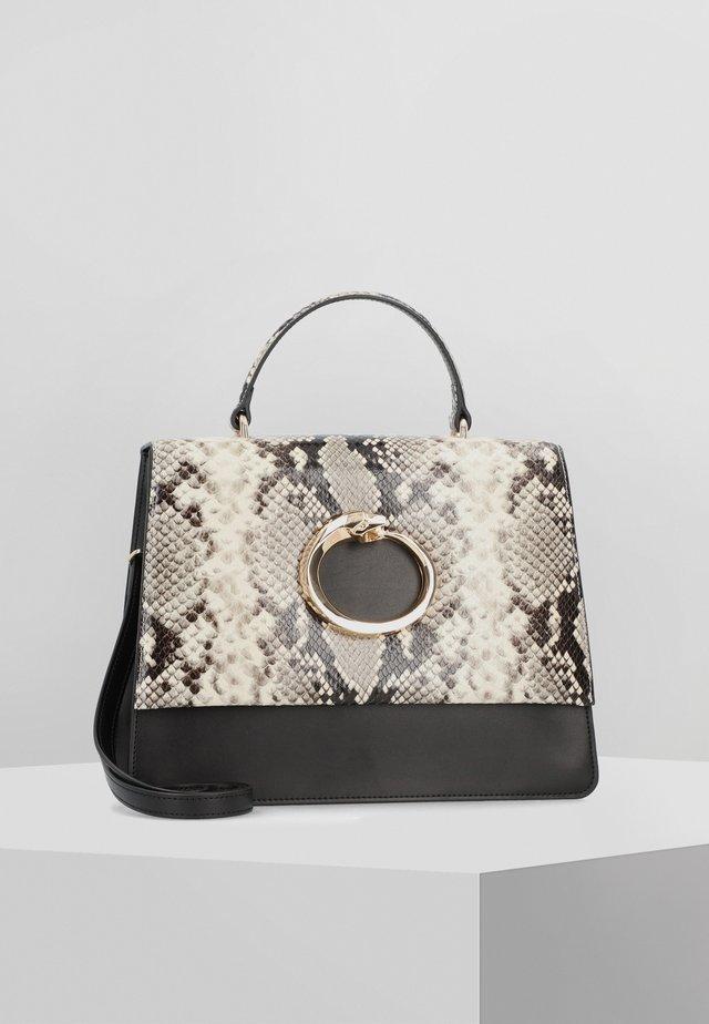 VIPER HANDTASCHE LEDER 29 CM - Handbag - black