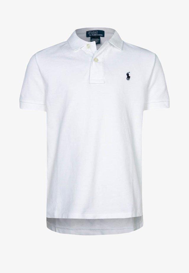 CLASSIC FIT - Koszulka polo - white