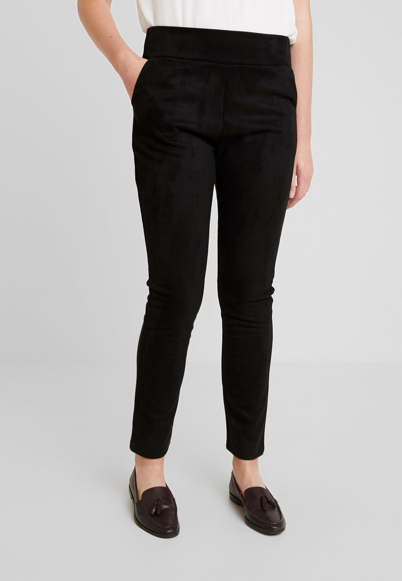 Derhy - PORTATIVE - Leggings - Trousers - black