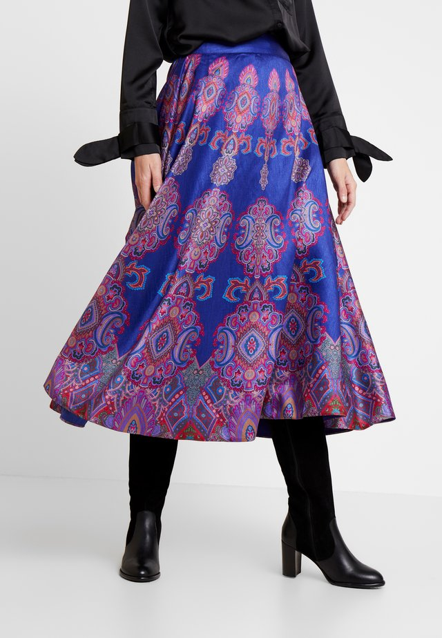 OPERA - A-line skirt - purple