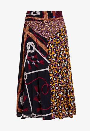 OKAPI - A-line skirt - plum