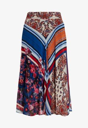OEUVRE - Áčková sukně - navy