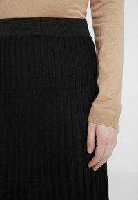 Derhy - OAKLAND - A-line skirt - black - 5