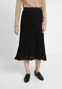 Derhy - OAKLAND - A-line skirt - black - 0