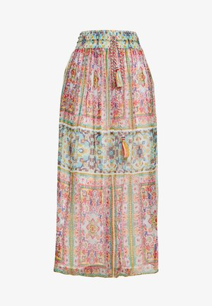 HAVRE - Maxi skirt - turquoise