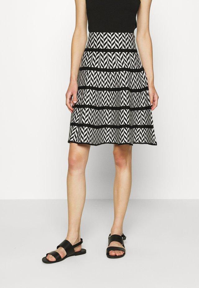 PHENIX JUPE - A-line skirt - blanc