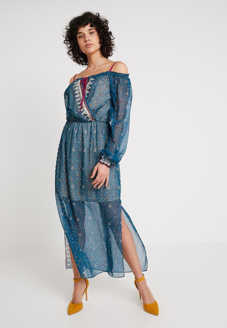 Derhy - FINALITE ROBE - Maxi dress - blue
