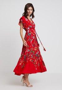 Derhy - FLAMENCO ROBE - Vestido largo - rouge - 1