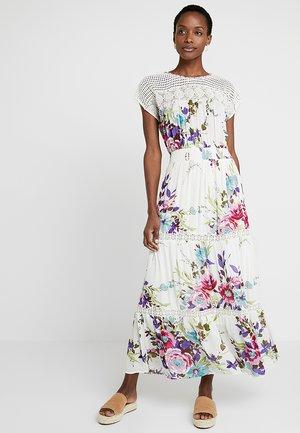 FLORAISON ROBE - Długa sukienka - white
