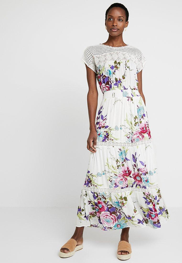 Derhy - FLORAISON ROBE - Robe longue - white