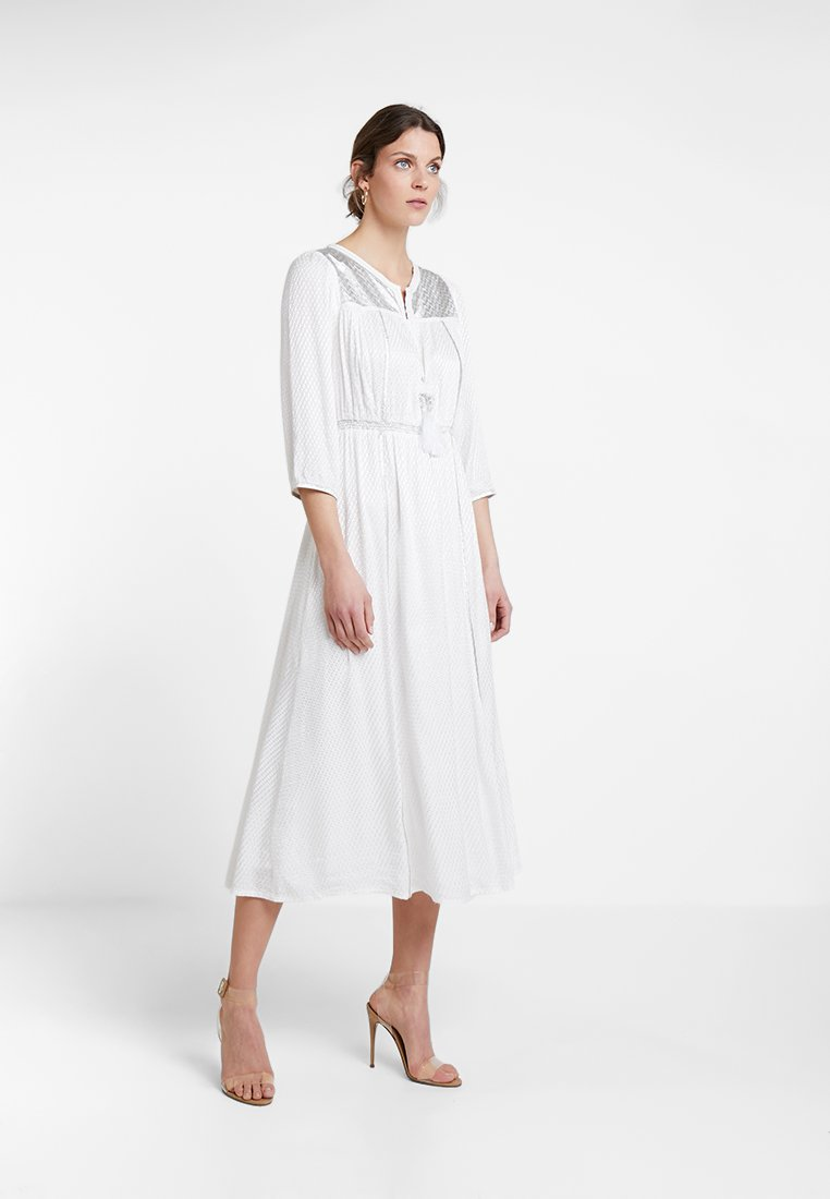 Derhy - ELECTRODE ROBE - Day dress - white