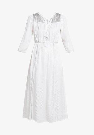 ELECTRODE ROBE - Denní šaty - white