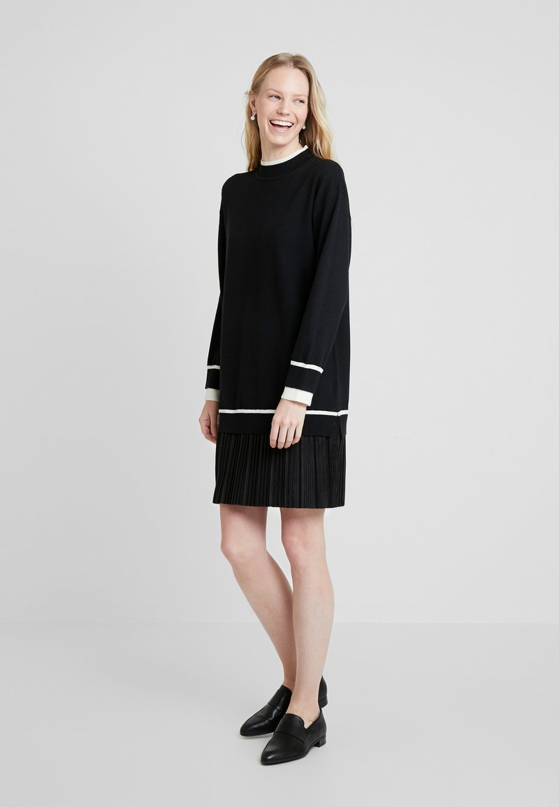 Derhy - NEIGES - Jumper dress - black