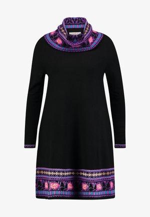 NAPOLITAIN - Jumper dress - black