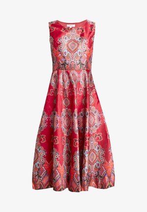 BIENHEUREUX - Cocktail dress / Party dress - red