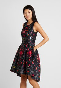 Derhy - BEAUBOURG - Cocktail dress / Party dress - black - 0
