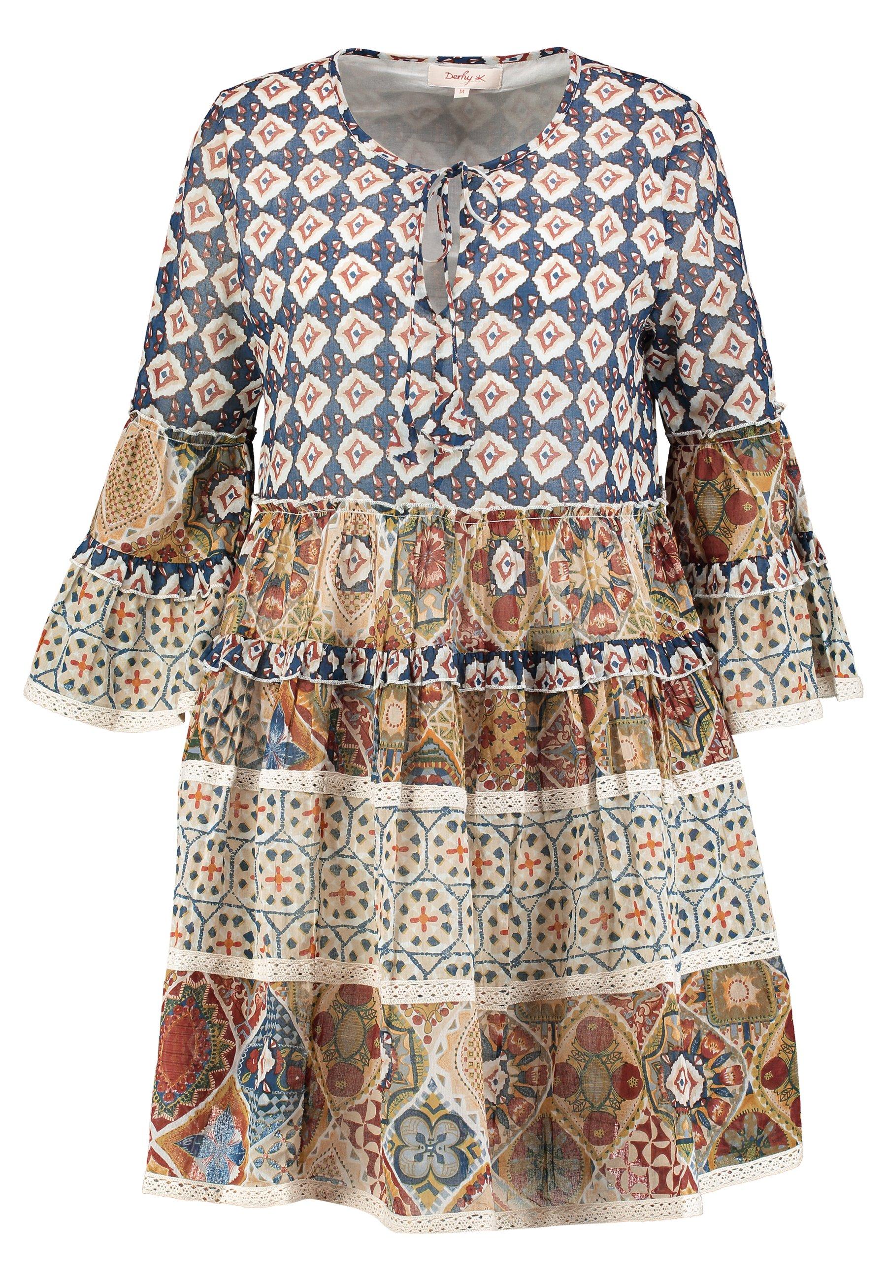 Derhy Cabolleto Robe - Vardagsklänning Beige
