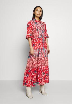 CAPITALE - Vestito lungo - red