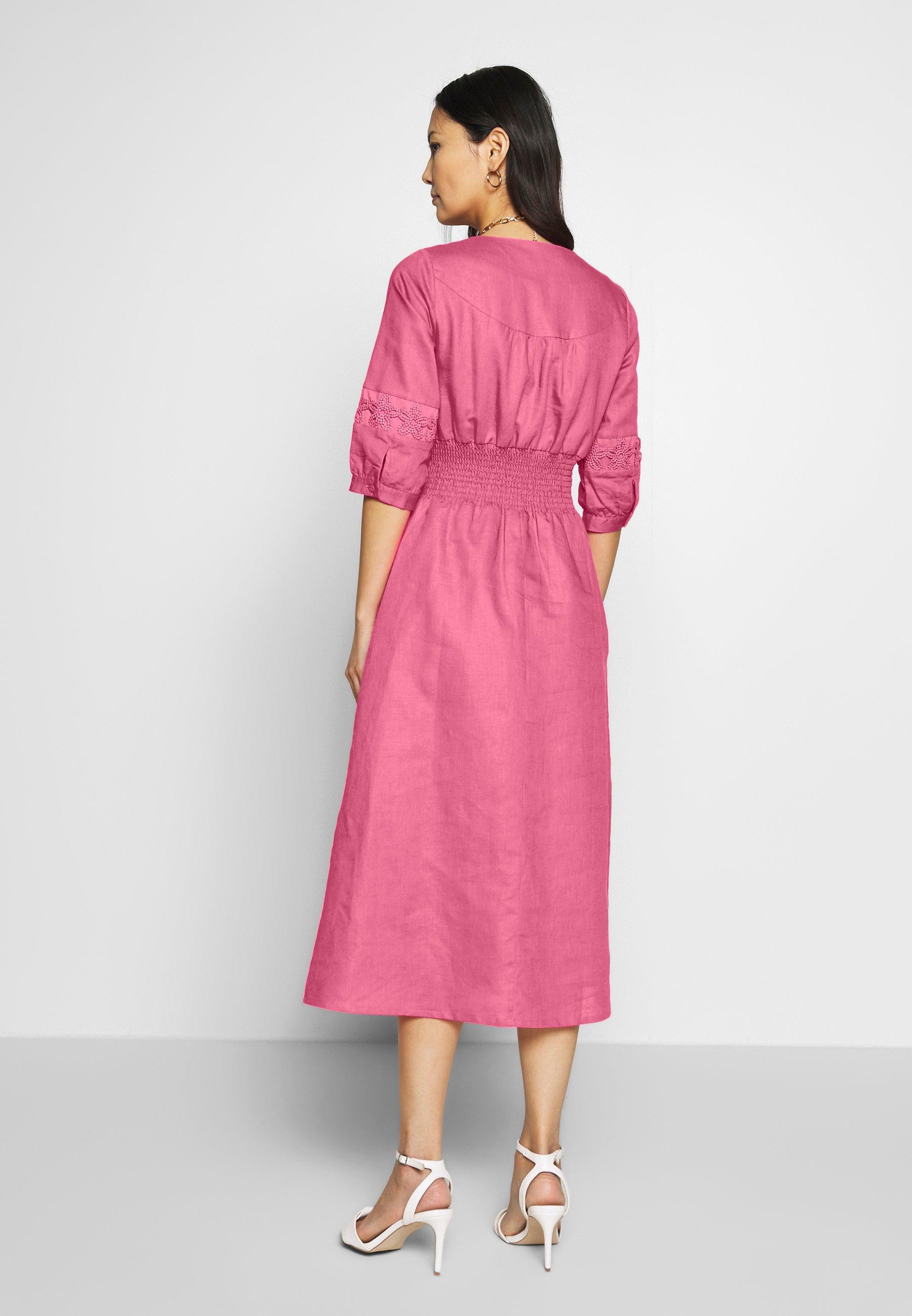 Derhy Abondance - Skjortklänning Rose/nude