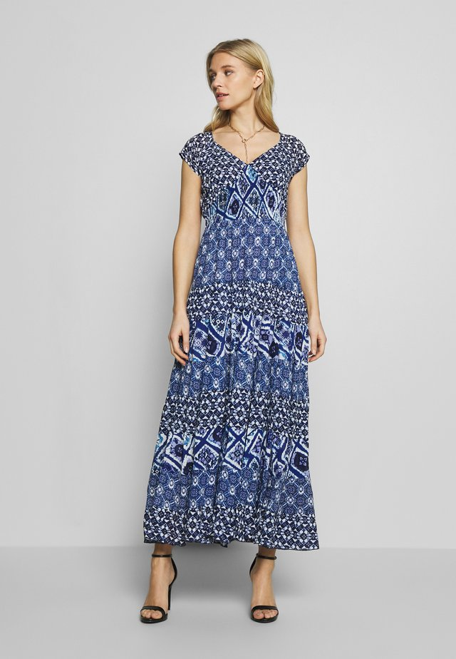 CAOUTCHOUC - Maxi dress - blue