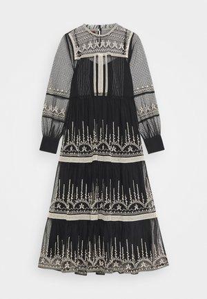 FAIENCE ROBE - Maxi dress - black