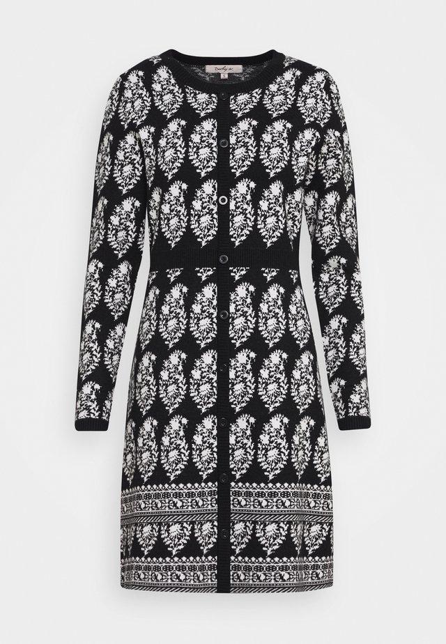 DEAUVILLE ROBE - Strikket kjole - black