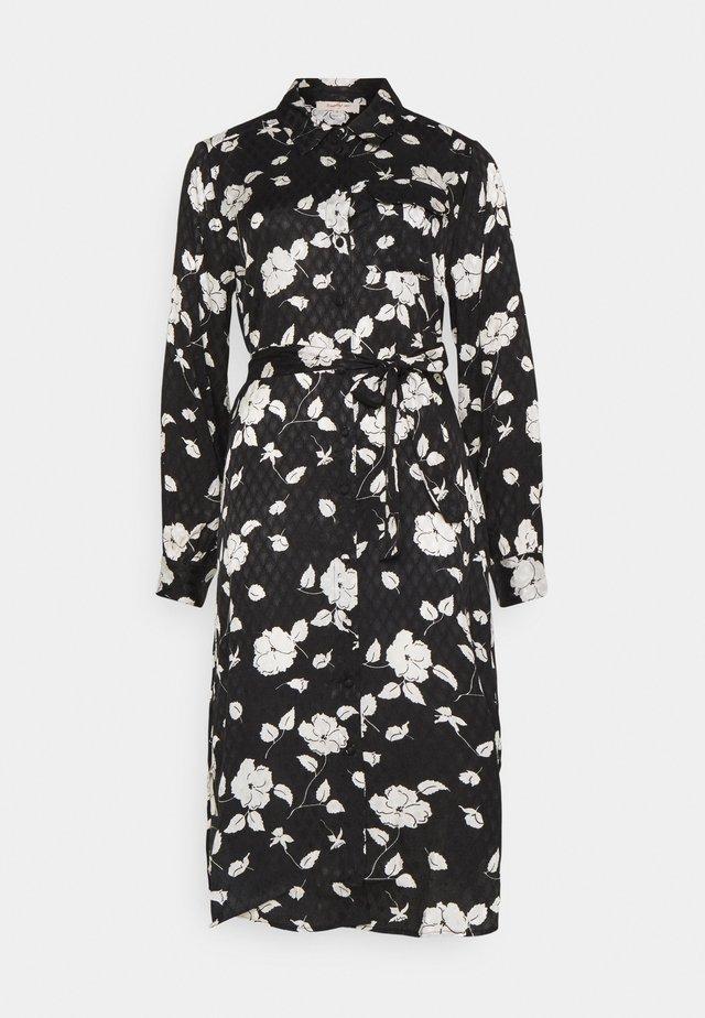 ENTHOUSIASME ROBE - Robe chemise - black