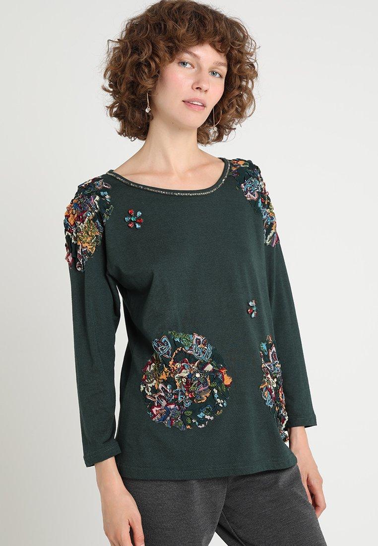 Derhy - CACTUS TEE SHIRT - Bluzka z długim rękawem - vert