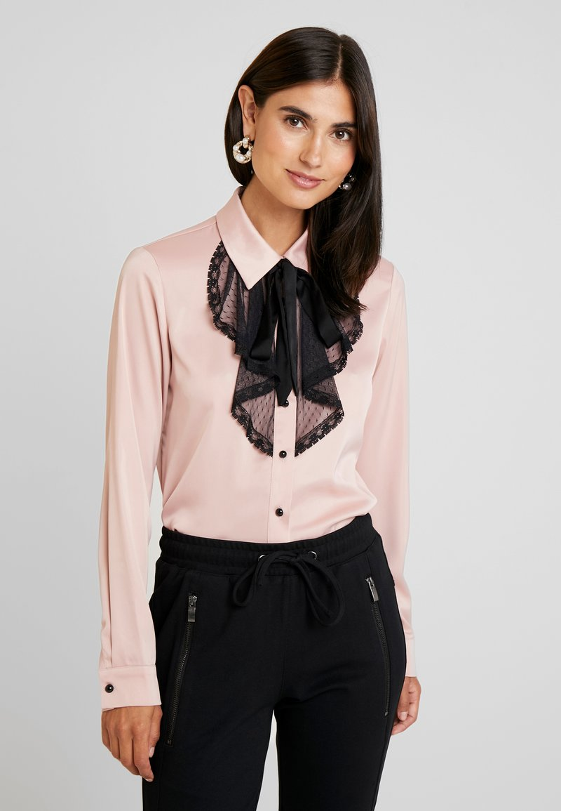 Derhy - CADRAN - Button-down blouse - nude