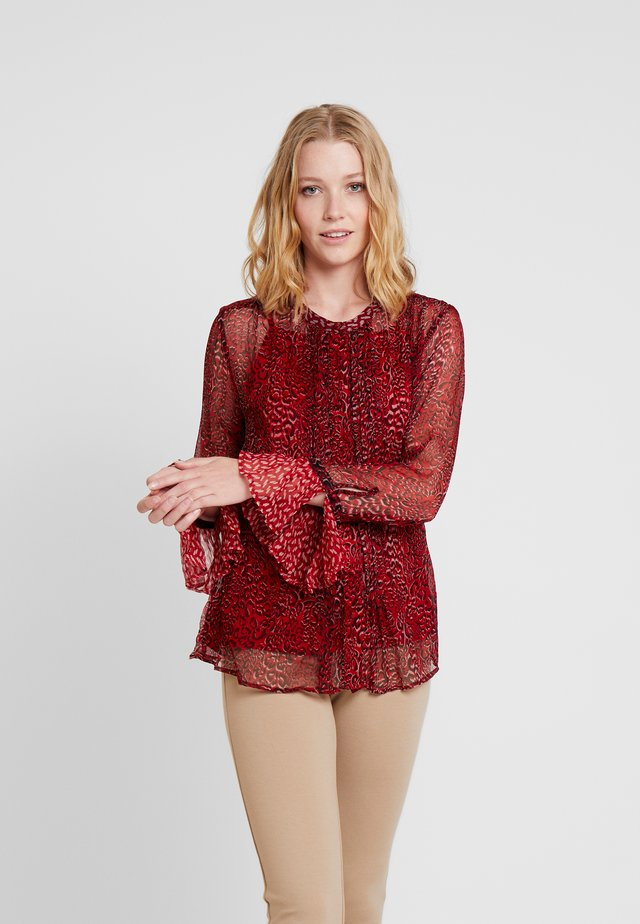 ARAGO - Bluse - red