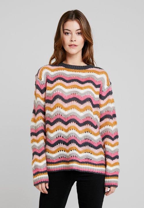 Derhy ELOI - Sweter - rose Odzież Damska XMNI-IE2 piękny